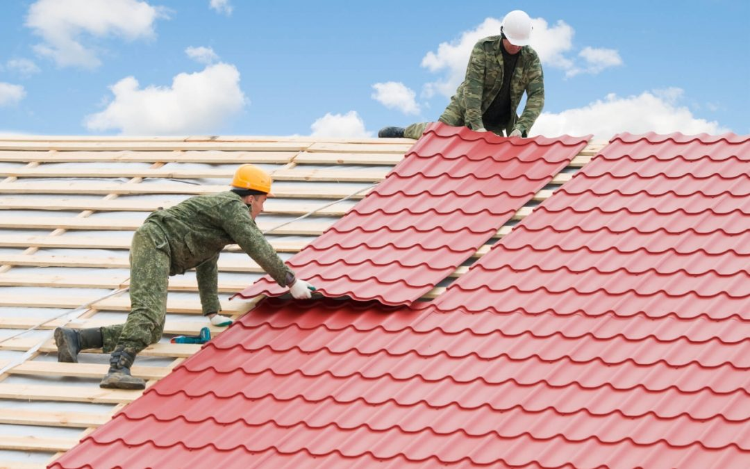 types of roofing materials include metal sheets