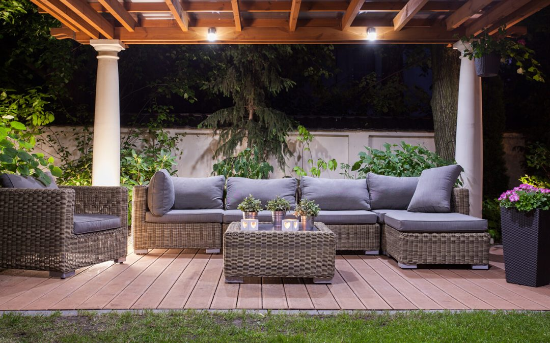 upgrade outdoor living spaces